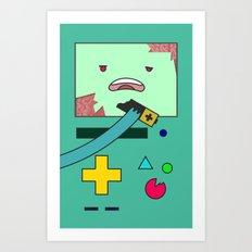 Zom-BMO Art Print