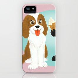 Share the ice cream iPhone Case