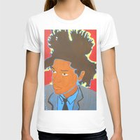 basquiat T-shirts featuring Basquiat by Justice Dwight