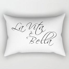la vita e bella - life is beautiful Rectangular Pillow
