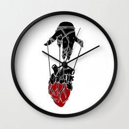 Heart Strings Wall Clock