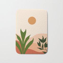 Fresh Start Everyday #illustration #minimal Bath Mat