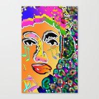dj Canvas Prints featuring DJ by sladja