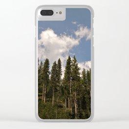 Conifers Clear iPhone Case