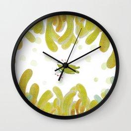 GREENMAN SLEEPING Wall Clock