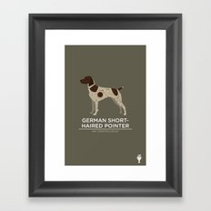 German Shorthaired Pointer Framed Art Print
