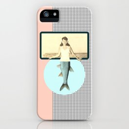 mermaid style iPhone Case