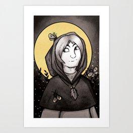 Warlock Art Print