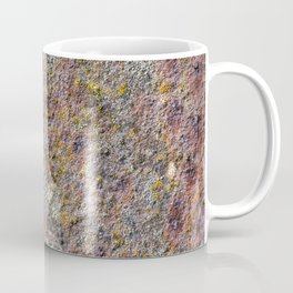 Colorful old rusty metal Coffee Mug