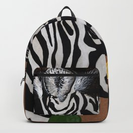 Zebra and Bubbles Backpack
