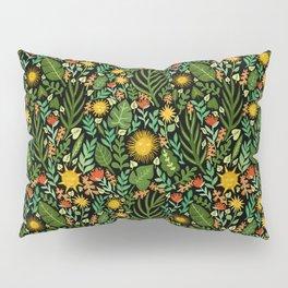 Sunshine Botanical - Dark Version Pillow Sham