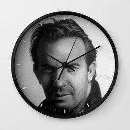 KEVIN COSTNER Wall Clock