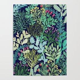 Botanical Glow Poster
