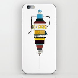 monster - syringe iPhone Skin