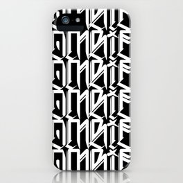 Zombies Zombies Zombies (Black) iPhone Case