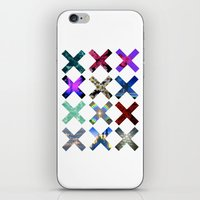 hologram iPhone & iPod Skins featuring XXX by Sara Eshak