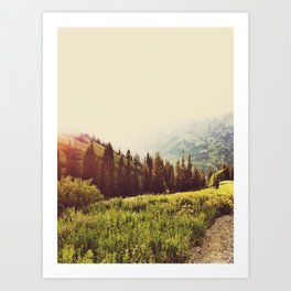 Albion in the SUmmer Art Print