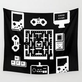 Geek Gamer Pattern Wall Tapestry