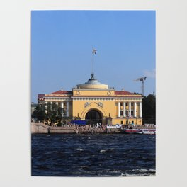 Facade Admiralty building Poster