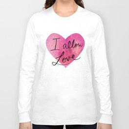 I allow love Long Sleeve T-shirt