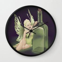 The Green Faery Wall Clock
