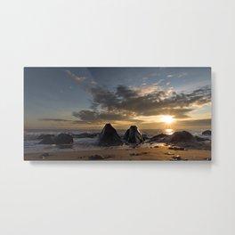 Caistor Sunrise Metal Print