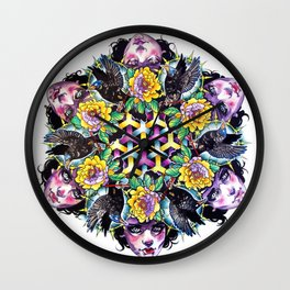 Sacred Geometry Wall Clock