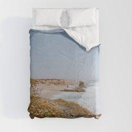 california coast vi / santa cruz Comforters