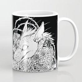 Chupacabra en las flores Coffee Mug