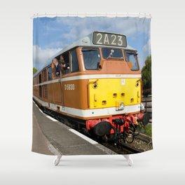 Diesel loco 5830 Shower Curtain
