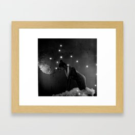 want Framed Art Print