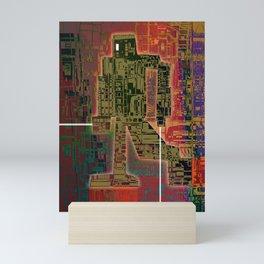 Robotic Lab Mini Art Print