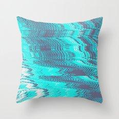 DIGITAL GLITCH 6 Throw Pillow