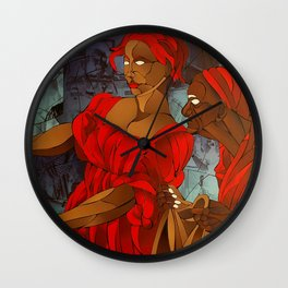 A Murder Wall Clock