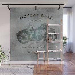 Motorbike Vintage Grunge Poster Wall Mural