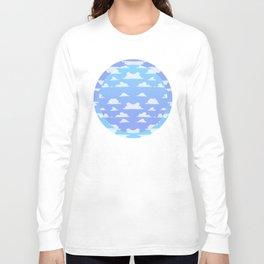 Bright Lit Blue Skies Long Sleeve T-shirt