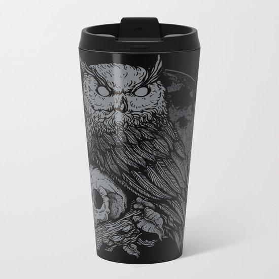 night watcher Metal Travel Mug