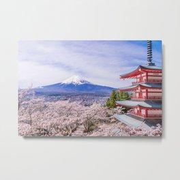 Mount Fuji, Japan Metal Print