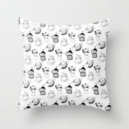 BREWS Throw Pillow