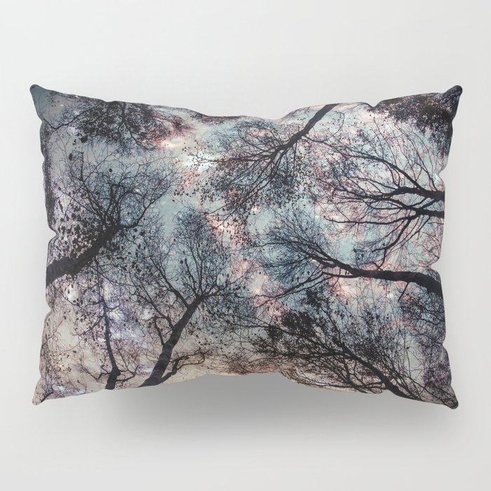 Starry Sky in the Forest Pillow Sham