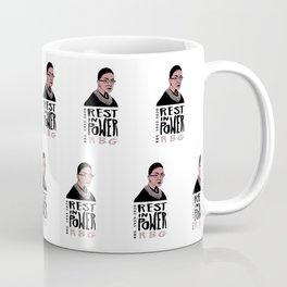 RBG Rest in Power Coffee Mug