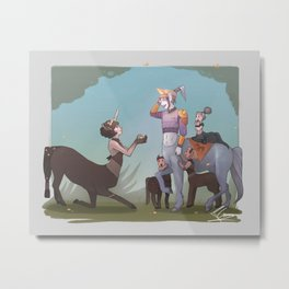 Last Unicorn Metal Print