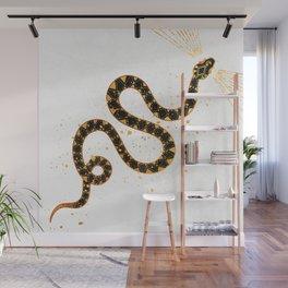 Dark Snake Inktober :: Sleep Copiously Wall Mural