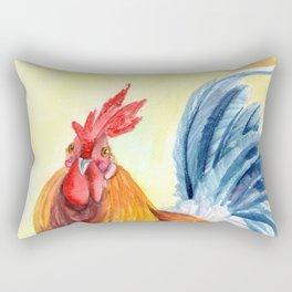 Kauai Island Rooster 4 Rectangular Pillow