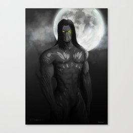 """The Darkness"" Canvas Print"