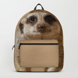 Little cheeky meerkat Backpack
