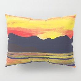 Salish Sea Sunset Pillow Sham