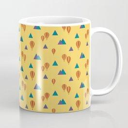 Air Balloon Mountains - Southwestern Coffee Mug