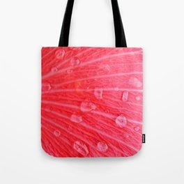 Pink Rain Tote Bag