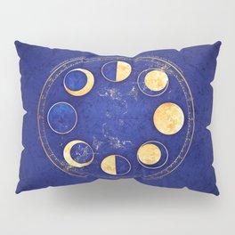 Celestial Atlas :: Lunar Phases Pillow Sham